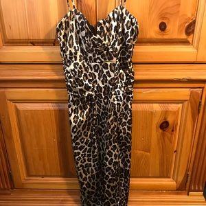 Cache sexy animal print dress